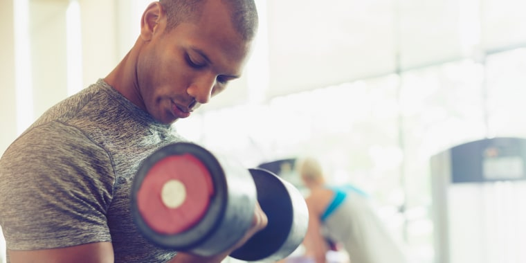 Studies show that people feel significantly greater self-esteem and perceived strength after resistance training.