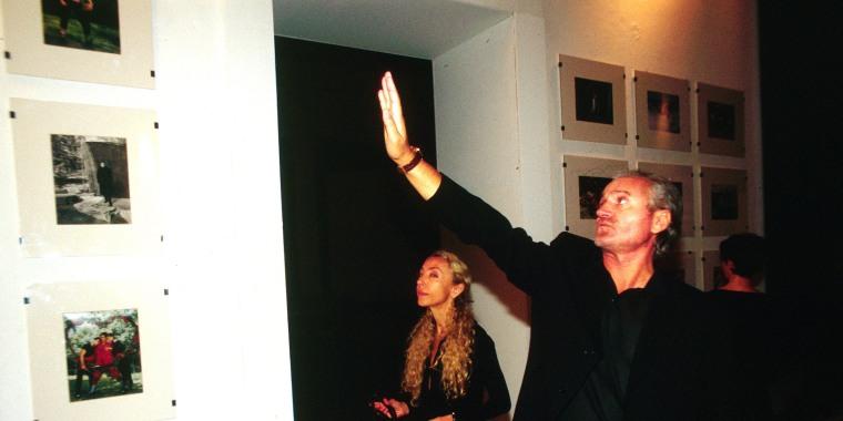 Image: Italy, Milan: Gianni Versace and Franca Sozzani