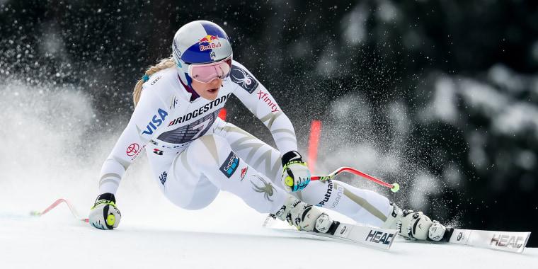 Image: Audi FIS Alpine Ski World Cup - Women's Downhill