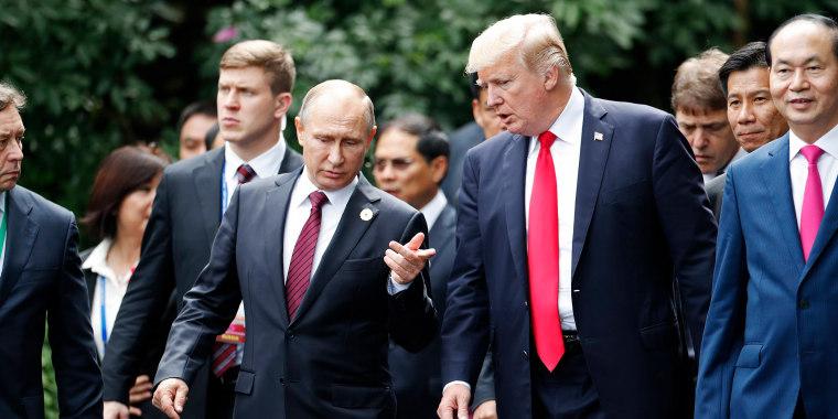 Putin Trampla görüşün vaxtını açıqladı