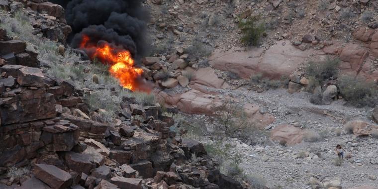 Image: Grand Canyon Crash