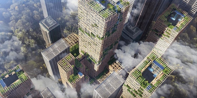 Worlds Tallest Building Made Of Wood Is Planned For Tokyo