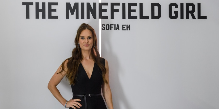 "Sofia Ek, author of ""Minefield Girl,"" which was recently turned into a visual audiobook on Spotify."