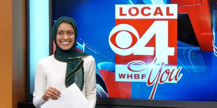 Tahera Rahman just became the first TV reporter in America to wear a hijab on the air.