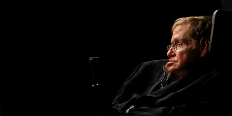 Image: Theoretical Physicist Stephen Hawking Addresses A Public Meeting In  Cape Town