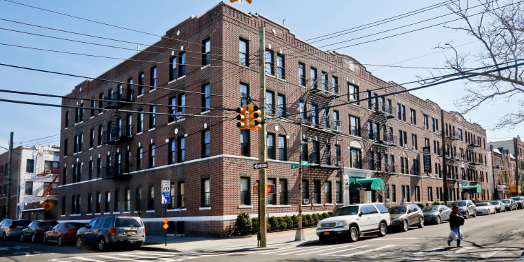 Image: Apartment buildings in the Astoria section of Queens
