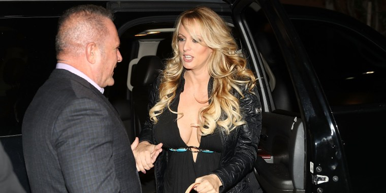 Image: Stormy Daniels arrives to perform at the Solid Gold Fort Lauderdale strip club