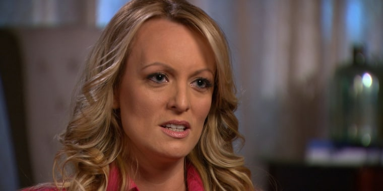Stormy Daniels' lawyer files motion to depose Trump, lawyer Michael Cohen