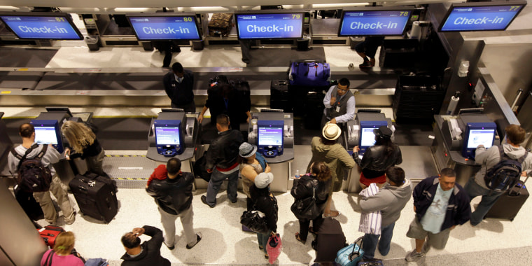 Image: Airline Checkin