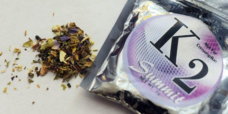 Image: K2 synthetic marijuana