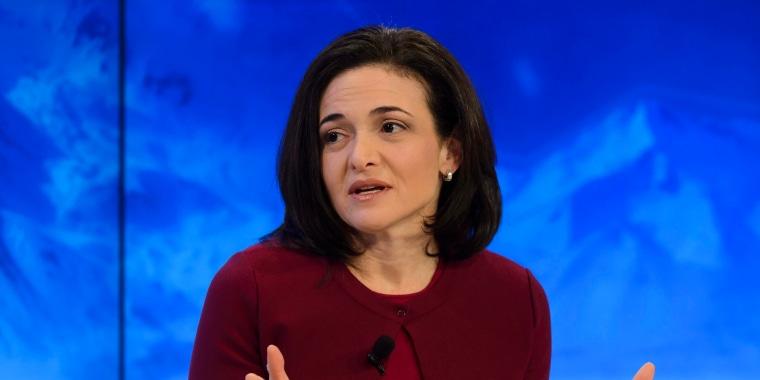 Image: Sheryl Sandberg in 2016