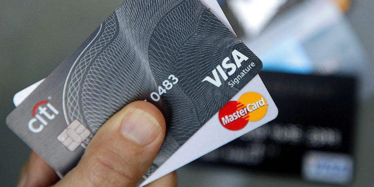 Image: Credit cards