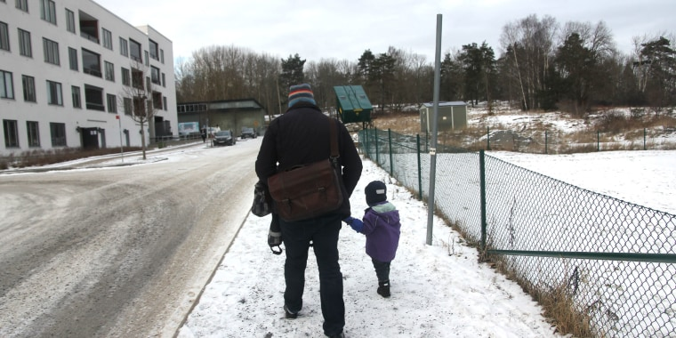 Image: Swedish paternity leave