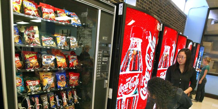 Image: Chicago School Officials Address Junk Food