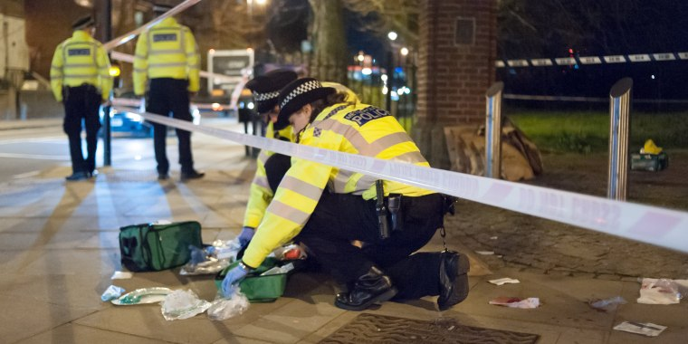 Image: Stabbing Attack In London