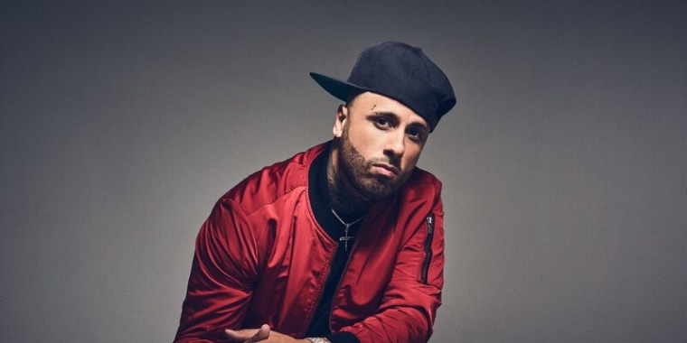 """""""I knocked on doors at radio stations for them to play my song,"""" Nicky Jam says of his career in the 90s, """"just to see it now jump into the anglo-crowd is awesome."""""""