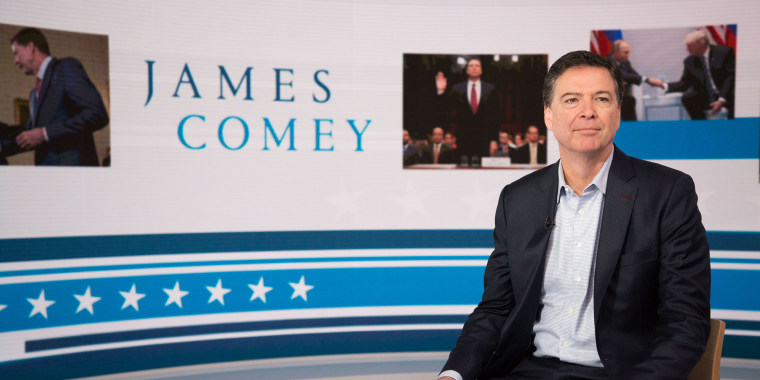 Image: James Comey on Today