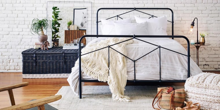 If looking to make inexpensive but dramatic improvements, focus on the bedroom.