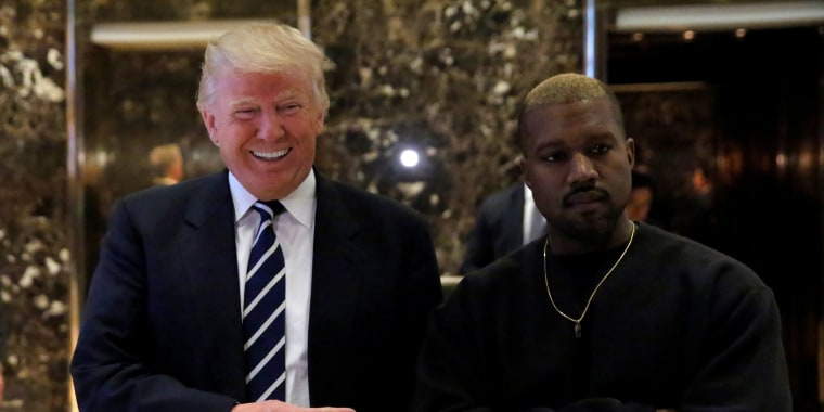 Image: President-elect Donald Trump and musician Kanye West pose for media at Trump Tower in Manhattan, New York City