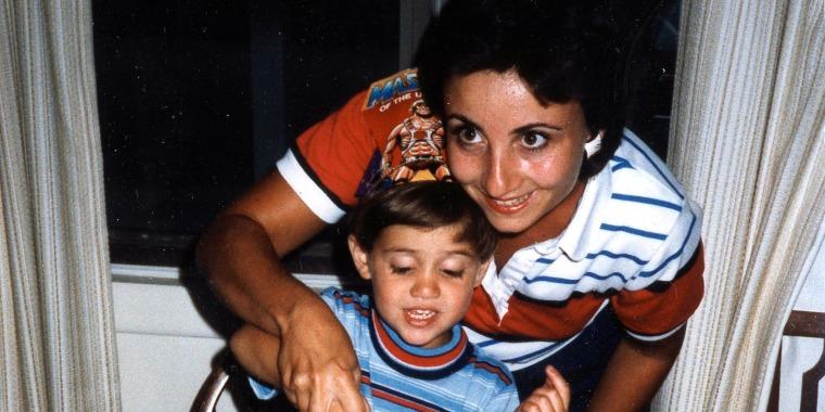 Image: Nancy Seaman celebrates her son Greg's birthday