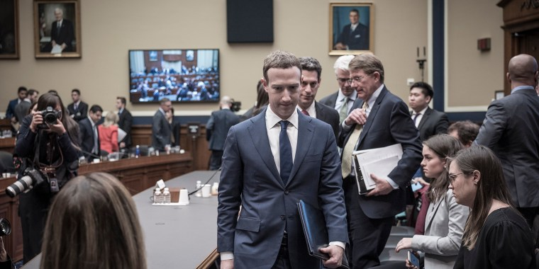 Image: Mark Zuckerberg appears before the House and Energy Committee in Washington