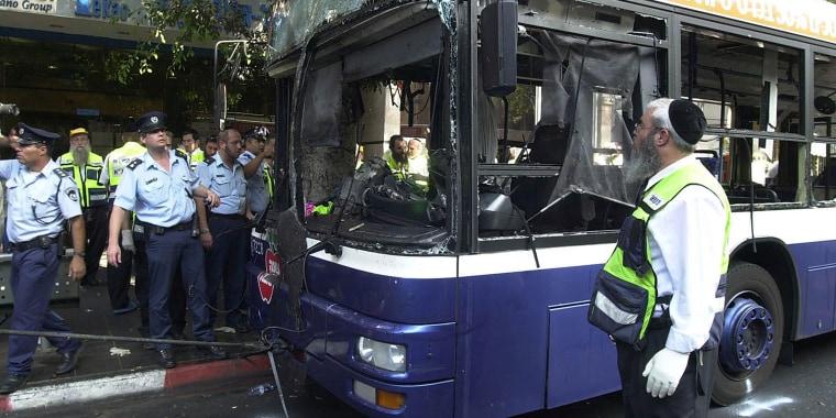 Image: Suicide Bombing Kills Five In Tel Aviv