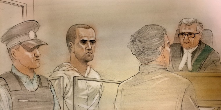 Image: Alek Minassian court room sketch
