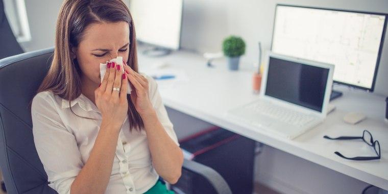 Image: Spring allergies