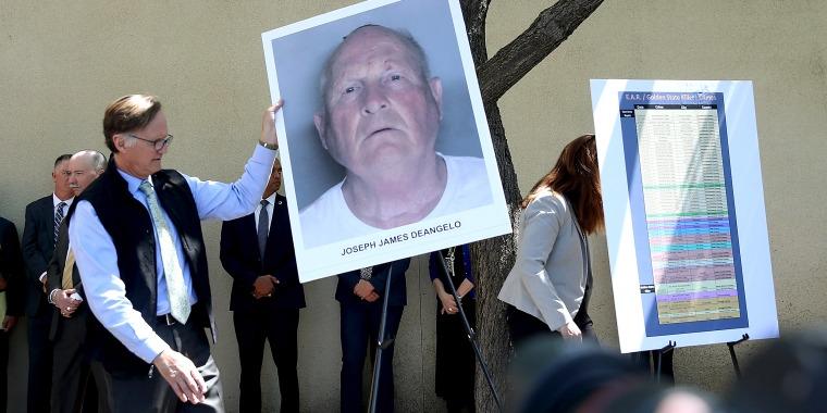 Image: Sacaramento DA Makes Major Announcement On Golden State Killer Case