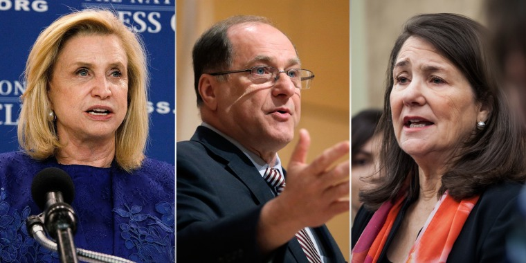 Image: Caroline Maloney, Michael Capuano and Diana DeGette