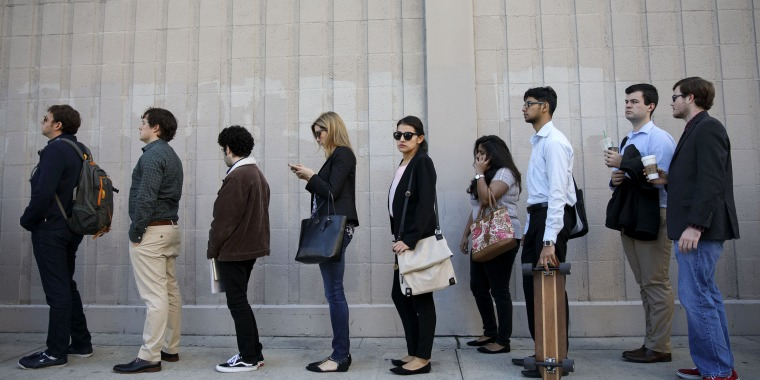 Inside The LA Tech Job Fair As Jobless Claims in U.S. Rise To Four-Week High Amid Holiday