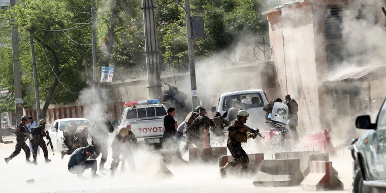 Image: Double suicide bombing in Kabul