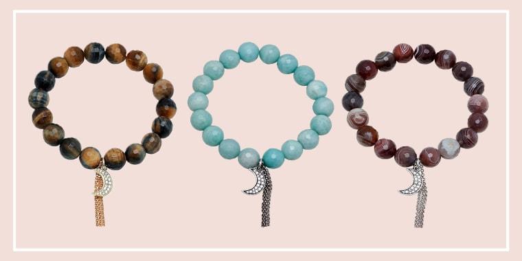 Soul Journey Crescent Moon Bracelet