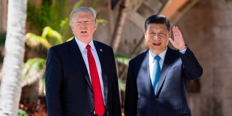 Image: Trump and Jinping
