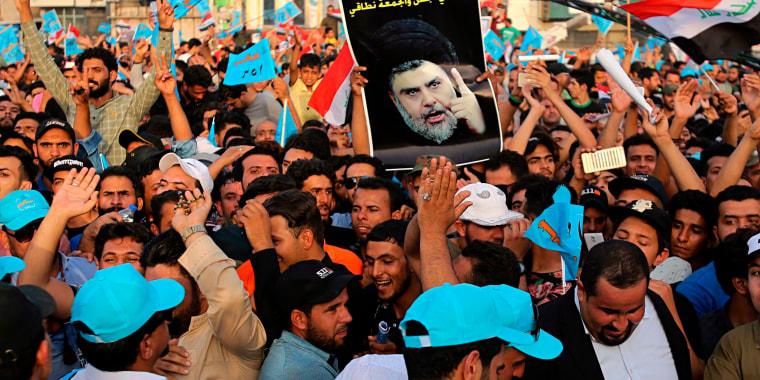 Image: Muqtada al-Sadr followers