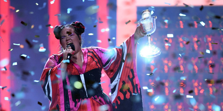 Image: PORTUGAL-EUROVISION-ENTERTAINMENT-MUSIC-TELEVISION