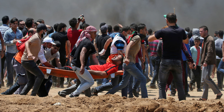 Image: Clashes in Gaza