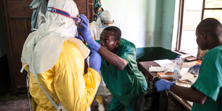 Image: Ebola outbreak in Bikoro, DR Congo