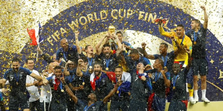 Image: World Cup - Final - France vs. Croatia