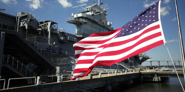World War II vet returns to warship that survived kamikaze attack