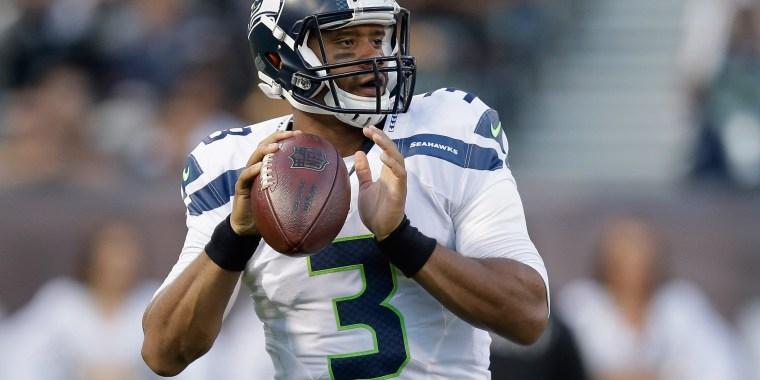 Image: Seattle Seahawks v Oakland Raiders