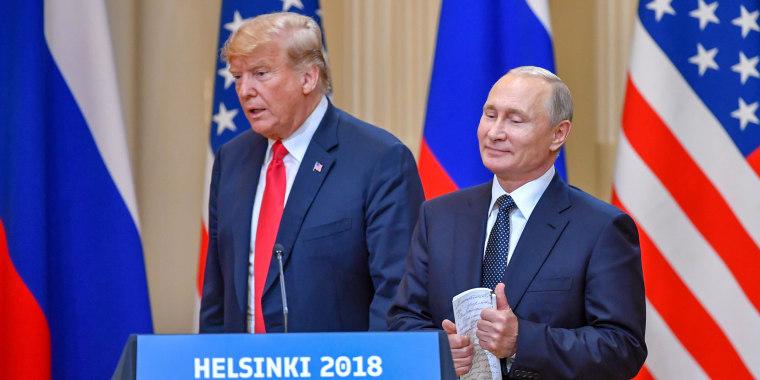 Image: Donald Trump Vladimir Putin