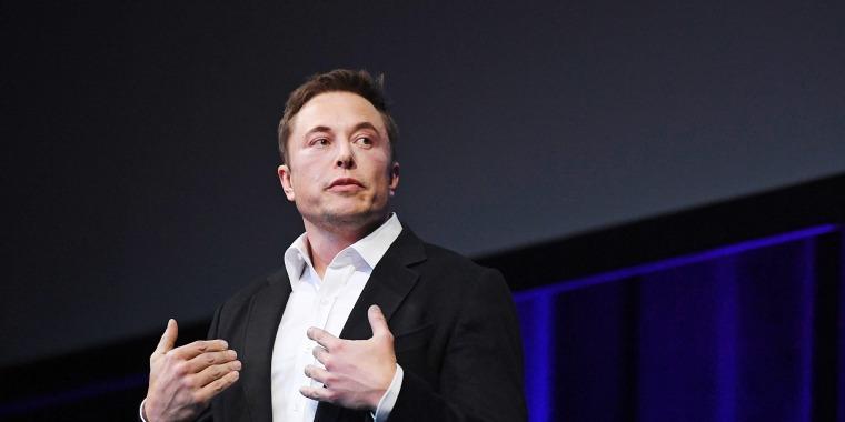 Image: SpaceX CEO Elon Musk speaks