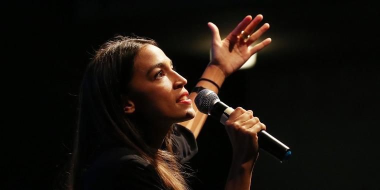 Image: NY House Candidate Alexandria Ocasio-Cortez Joins Progressive Fundraiser In LA