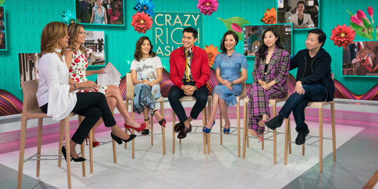'Crazy Rich Asians' cast