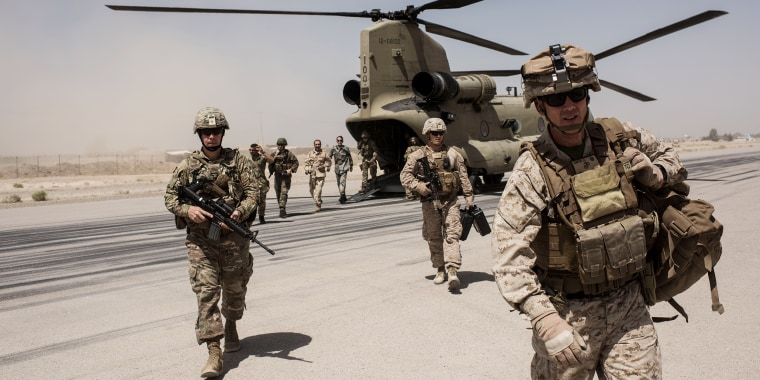 Image: United States Continues Role in Afghanistan as Troop Numbers Increase