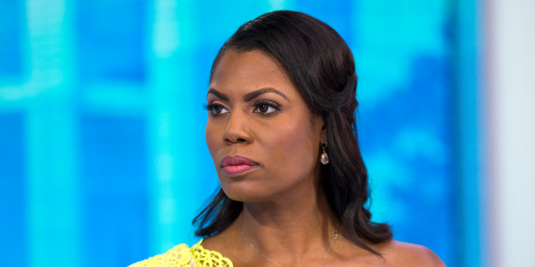 Omarosa Manigault Newman appears on the TODAY show