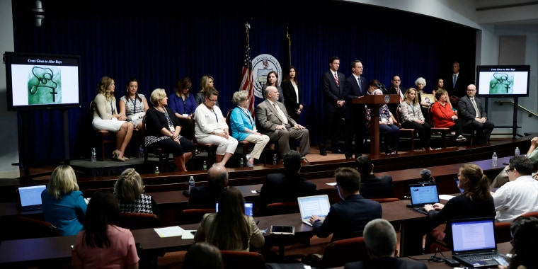 Image: Josh Shapiro speaks during a news conference