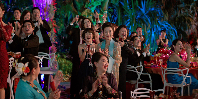 "Image: A scene from ""Crazy Rich Asians"""