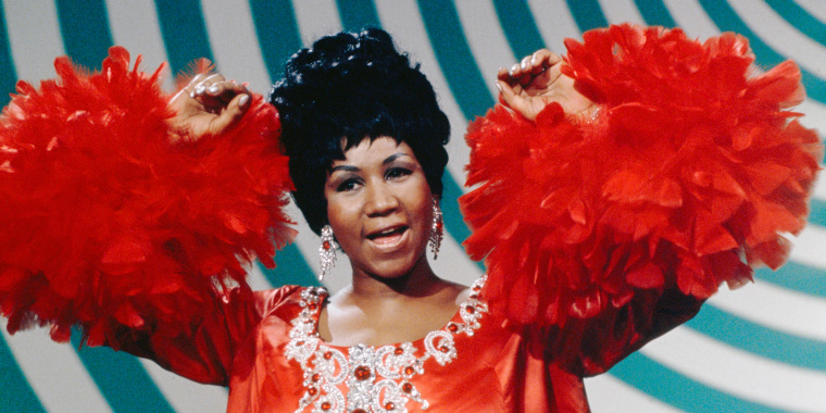 Image: Aretha Franklin on The Andy Williams Show